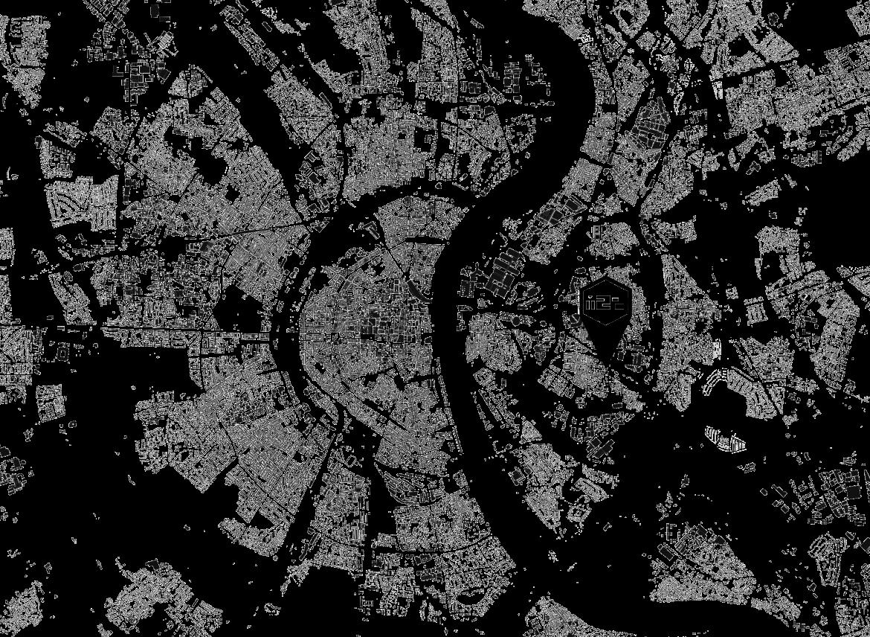 Schwarzplan Köln, m2p Architekten